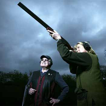 Clay Shooting In North Yorkshire Picture