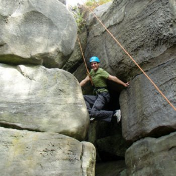 Rock Climbing And Abseilling Day Picture