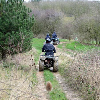 Quad Biking At Belton Woods Picture