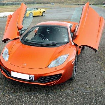 Mclaren Mp4-12c Driving Thrill