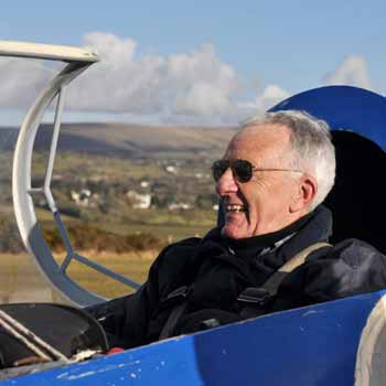Gliders experience over Dartmoor