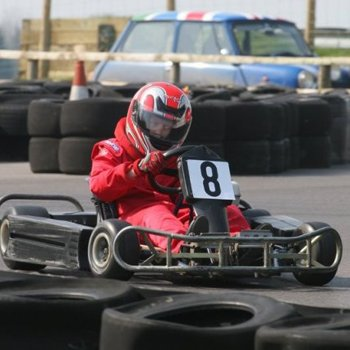 Outdoor Karting In Wiltshire Picture