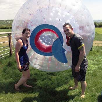 Experience the thrill of Sphereing and Zorbing