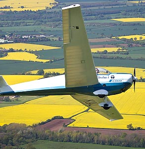 Motor Gliding Experience Days in Warwickshire