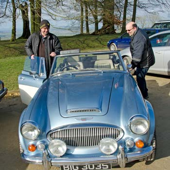 Forest Of Dean Classic Car Rally Picture