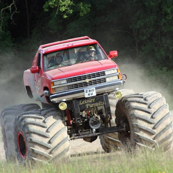 Big Grizzly Monster Truck Drive Picture