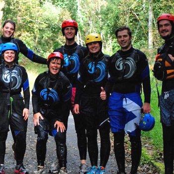 Gorge WalkingandRiver Tubing Stirlingshire