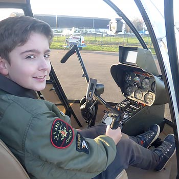 Junior Helicopter Flight London