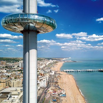 Overnight Break in Brighton with i360 & Pavilion for Two