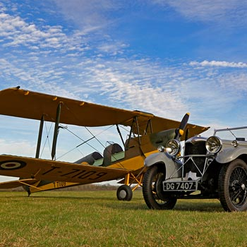 Bicester Heritage Tiger Moth Flights