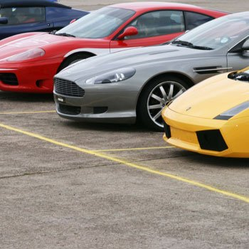 Junior Supercar Ride Oxfordshire