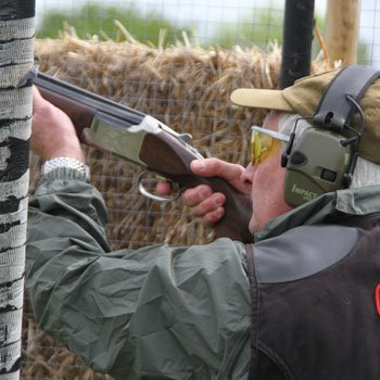 Clay Shooting In Hampshire Picture