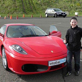 Kids Ferrari Drive Picture