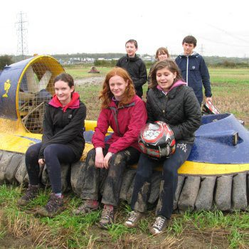 Kids Hovercrafting in Cheshire