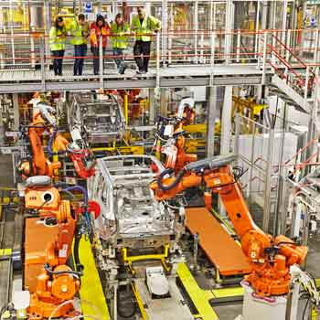 Land Rover Factory Tours