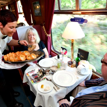 Steam Train Lunch Lancashire