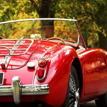 Self Drive Classic Car Hire