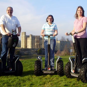 leeds castle segways