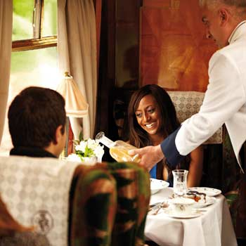 Luxury and Steam Train Dining Trips