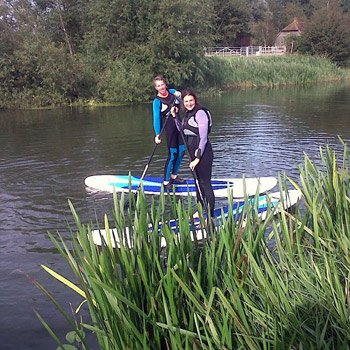 Stand Up Paddle Boarding lessons in the UK with Into The Blue