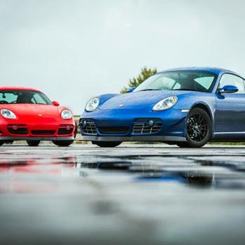 Porsche Drifting