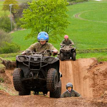 Quad Trek In Cheshire Picture