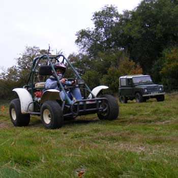 Off Road Challenge in Sussex