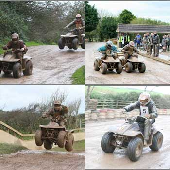 Quads in Cornwall