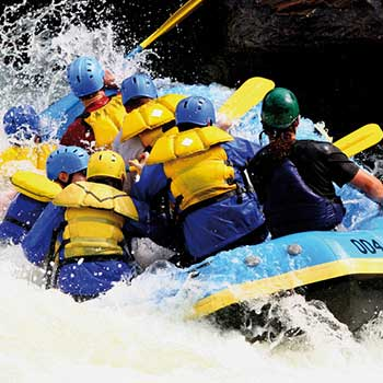 White Water Rafting South Wales