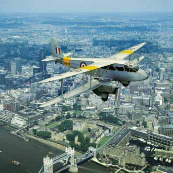 London Vintage Sightseeing Flight