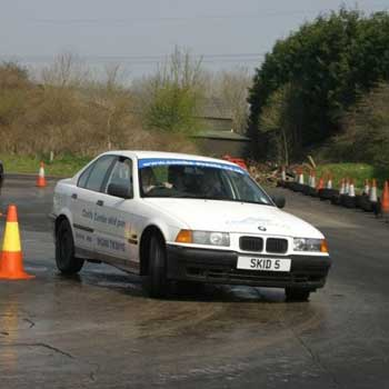 Skid Pan Castle Combe Picture