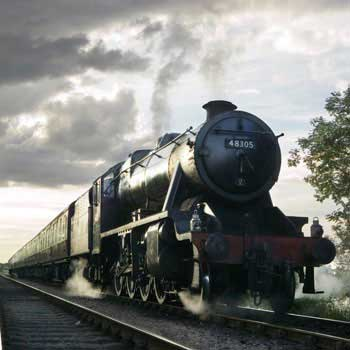 Saturday Steam Luncheon in Leicestershire
