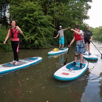 Stand Up Paddleboarding Warwickshire Picture