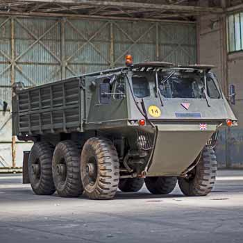 4x4 Army Truck Driving