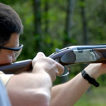 Shooting Clays In Warwickshire Picture