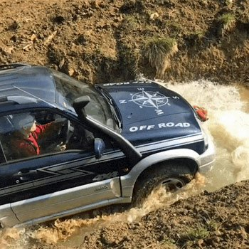 Off Road In North Yorkshire