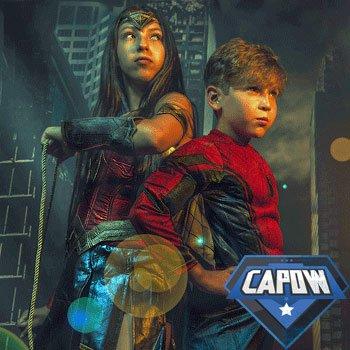 Capow Superhero Photoshoot