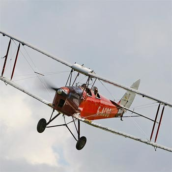 Tiger Moth Flight in Kent