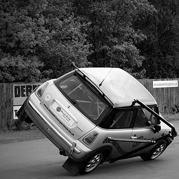 Stunt Driving Middlesbrough Picture