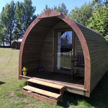 Gothic Camping Pods Yorkshire