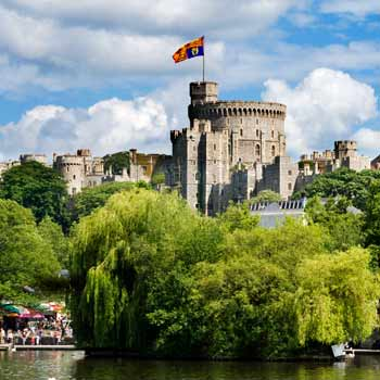 Windsor Castle Entry & Cream Tea for Two