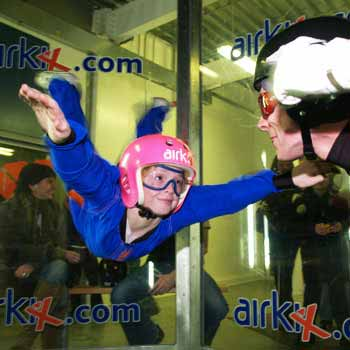 Family Indoor Skydiving