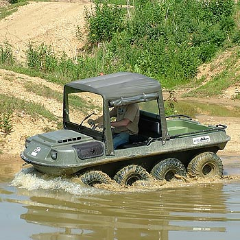 Amphibious Driving Leicestershire
