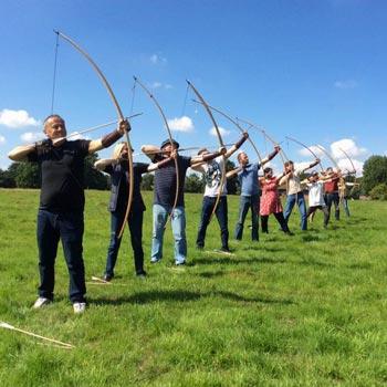 Medieval Longbow Archery