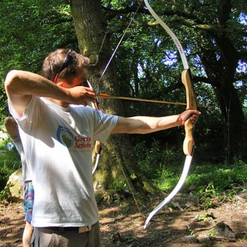 Archery In The Glencoe Valley Picture
