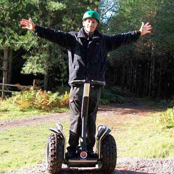 arms out segway
