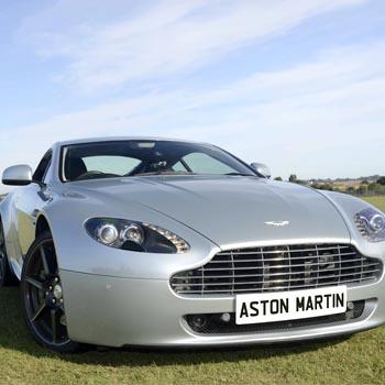 Aston Martin Vantage Drive Picture