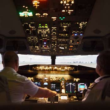 Boeing 737 Simulator Derbyshire Picture
