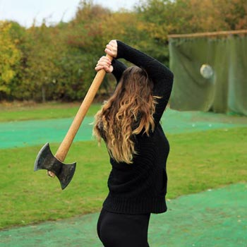 Axe Throwing Hertfordshire Picture