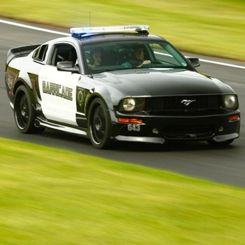 Transformers Barricade Mustang GT Drive